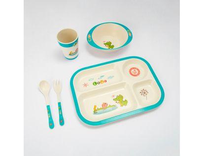 set-de-recipientes-para-alimentos-5-piezas-dinosaourio-614725