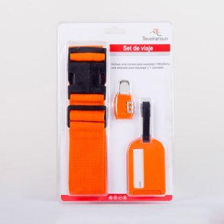 kit-para-viaje-3-piezas-naranja-correa-etiqueta-candado--614834