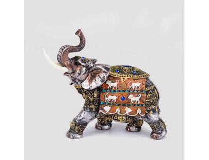 figura-de-21-cms-diseno-de-elefante-con-manta-de-animales-color-blanco-con-dorado-3300150248152