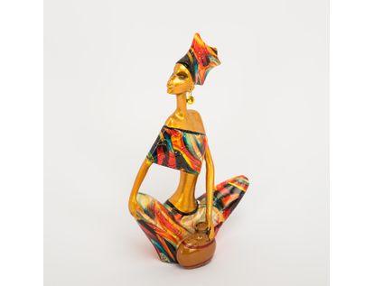 figura-decorativa-mujer-dorada-vestido-multicolor-614582