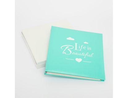 album-fotografico-verde-menta-de-20-hojas-diseno-life-is-beautiful-615026