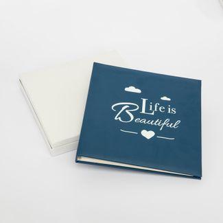 album-fotografico-azul-de-20-hojas-diseno-life-is-beautiful-615029