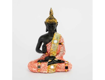 figura-de-buda-con-gorro-rahotsu-de-20-5-cm-color-rojo-con-dorado-615107