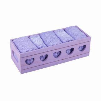 juego-de-toallas-para-bano-lila-x-5-unidades-con-caja-de-madera-614183