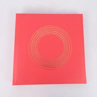 album-fotografico-rosado-de-20-hojas-diseno-circulos-dorados-614206