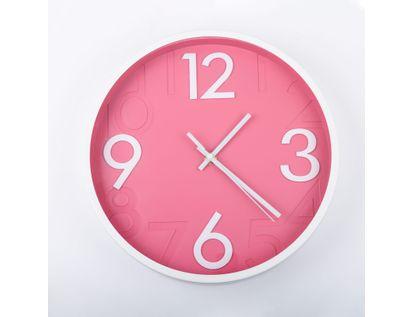 reloj-de-pared-28-cm-rosado-circular-borde-blanco-614402