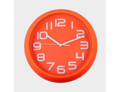 reloj-de-pared-30-cm-naranja-circular-614411
