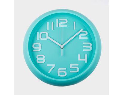 reloj-de-pared-30-cm-verde-menta-circular-614413