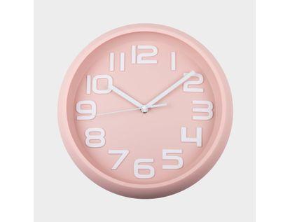reloj-de-pared-30-cm-rosado-circular-614426