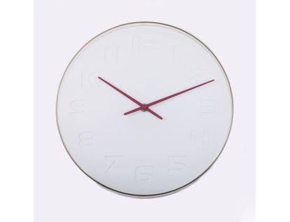 reloj-de-pared-28-cm-blanco-diseno-manecillas-vino-tinto-614437
