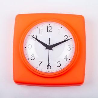 reloj-de-pared-18-5-cm-blanco-cuadrado-borde-naranja-614447