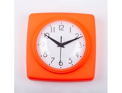 reloj-de-pared-18-5-cm-blanco-cuadrado-borde-naranja-614447