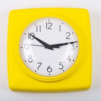 reloj-de-pared-18-5-cm-blanco-cuadrado-borde-amarillo-614448