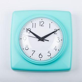 reloj-de-pared-18-5-cm-blanco-cuadrado-borde-aguamarina-614451