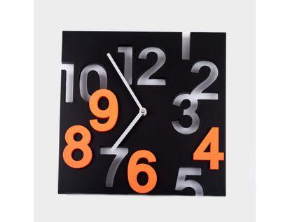 reloj-de-pared-29-5-cm-negro-cuadrado-con-numeros-naranja-614453