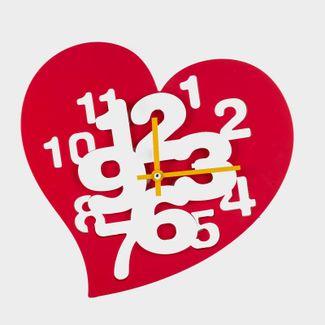reloj-de-pared-rojo-diseno-de-corazon-614458