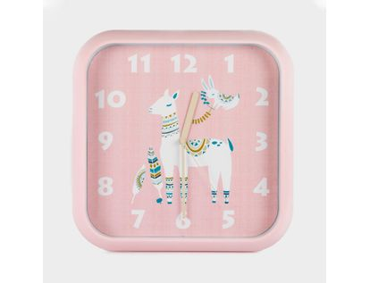 reloj-de-pared-30-cm-rosado-cuadrado-diseno-alpaca-614465