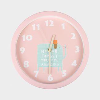 reloj-de-pared-30-cm-rosado-circular-diseno-de-elefante-614471