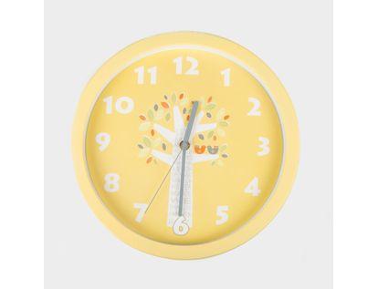 reloj-de-pared-30-cm-amarillo-circular-diseno-de-jirafa-614472