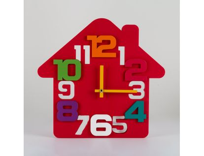 reloj-de-pared-32-5-cm-rojo-diseno-casa-614477