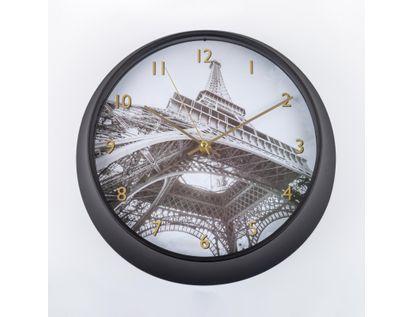 reloj-de-pared-25-cm-circular-con-borde-negro-torre-eiffel-614492