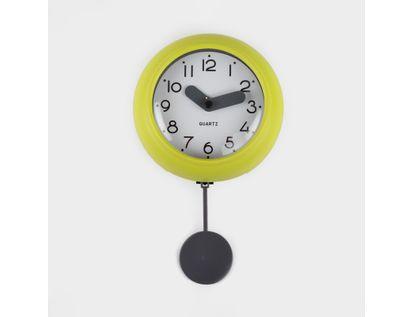 reloj-de-pared-10-cm-blanco-circular-con-borde-amarillo-pendulo-614502