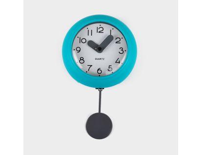 reloj-de-pared-10-cm-blanco-circular-con-borde-azulaguamarina-pendulo-614503
