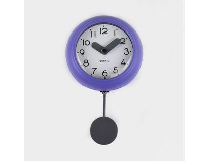 reloj-de-pared-10-cm-blanco-circular-con-borde-morado-pendulo-614505
