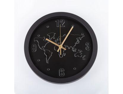 reloj-de-pared-29-5-cm-negro-circular-diseno-de-mapamundi-614507