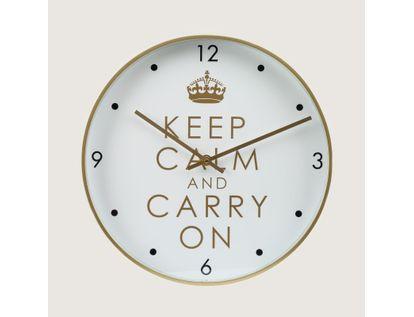 reloj-de-pared-31-cm-blanco-circular-con-borde-dorado-614513