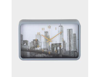 reloj-de-pared-rectangular-puente-de-brooklyn-borde-blanco-614516