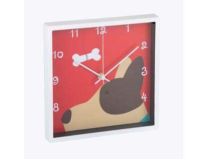 reloj-de-pared-24-cm-cuadrado-diseno-perro-614519