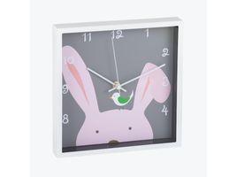 reloj-de-pared-24-cm-cuadrado-diseno-conejo-614521