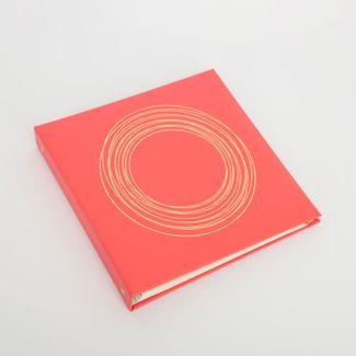 album-fotografico-rosado-de-20-hojas-diseno-circulos-dorados-615011