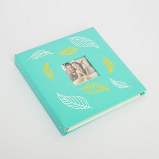 album-fotografico-verde-menta-de-20-hojas-diseno-plumas-615020