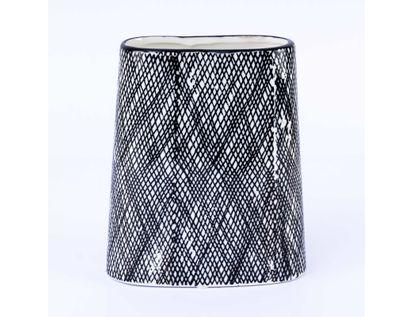 florero-blanco-con-lineas-negras-cruzadas-tamano-18-x-15-cms-7701016027045