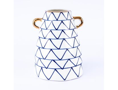 florero-blanco-con-triangulos-azules-con-agarraderas-doradas-18-5-cms-7701016027076