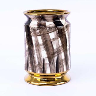 florero-blanco-con-base-dorada-con-pinceladas-cruzadas-color-negro-20-5-cm-x-14-cm-7701016027113