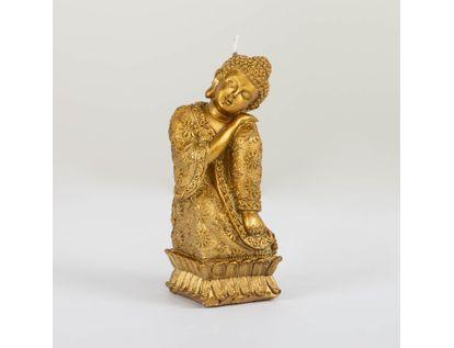vela-dorada-en-forma-de-buda-sentado-con-vestido-de-flores-7701016797252