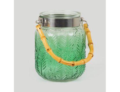 jarron-en-vidrio-grabado-de-14-5-cm-color-verde-con-borde-plateado-7701016841269