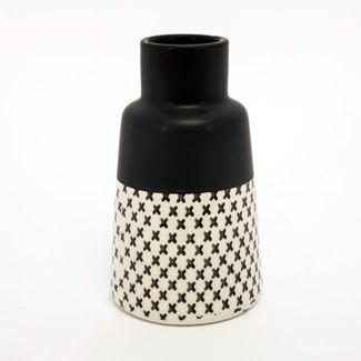 jarron-20-cm-con-diseno-blanco-y-negro-mate-7701016952316