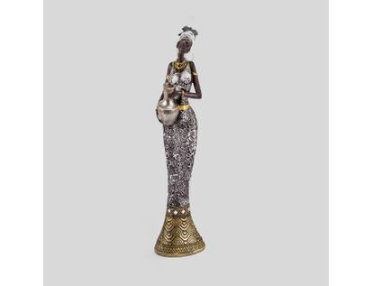 figura-decorativa-41-cm-mujer-con-vestido-de-flores-plateado-con-jarra-614545