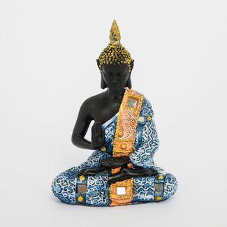 figura-de-buda-sentado-de-15-5-cm-con-gorro-rahotsu-y-mano-arriba-color-azul-con-dorado-615109