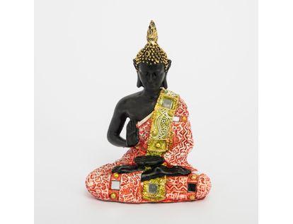 figura-de-buda-sentado-de-15-5-cm-con-gorro-rahotsu-y-mano-arriba-color-rojo-con-dorado-615110