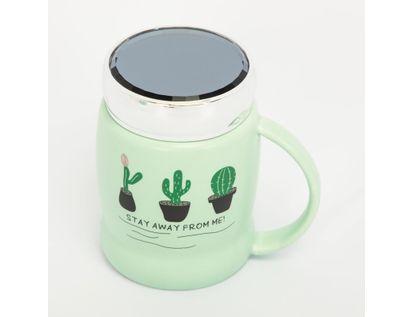mug-ceramica-con-tapa-450-ml-verde-cactus-615678