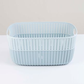 cesta-para-ropa-17-x-37-5-x-27-cm-verde-menta-2-tonos-615593
