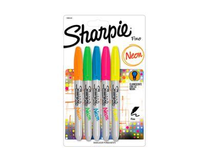 marcador-sharpie-neon-5-unidades-surtidas-71641085688