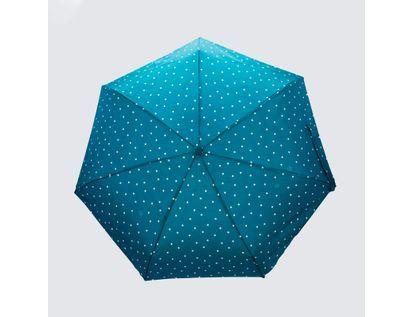 sombrilla-manual-turqueza-54-5-cm-diseno-puntos-rayados-614227