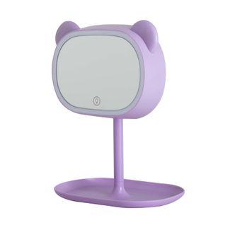 espejo-rectangular-30-cm-lila-oso-con-soporte-luz-led-615281