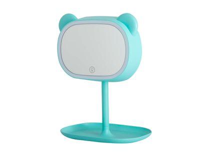 espejo-rectangular-30-cm-verde-menta-oso-con-soporte-luz-led-615282